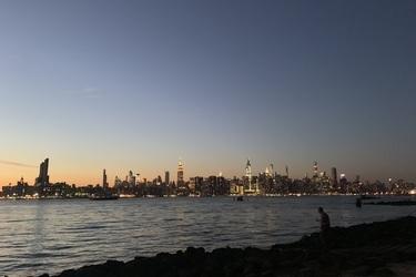 ブルックリンから見るマンハッタンがきれいでした!の画像1枚目